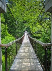 Hängebrücke Meraner Höhenweg Südtirol